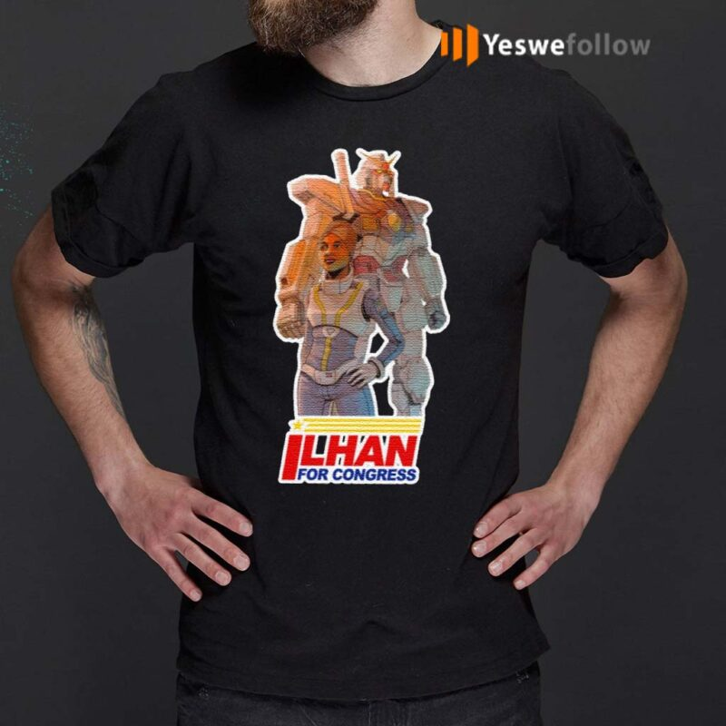 Ilhan-For-Congress-Shirts