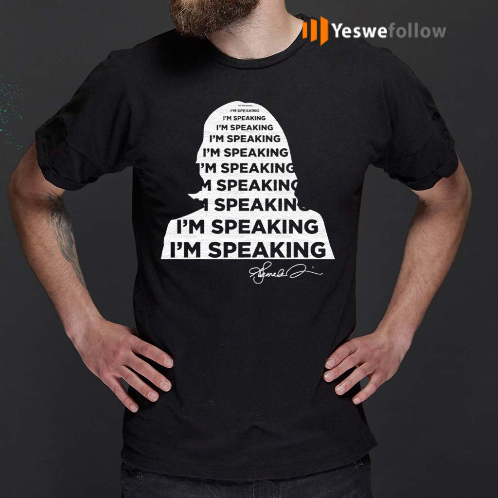 I'm-Speaking-Kamala-Harris-Signature-T-Shirt
