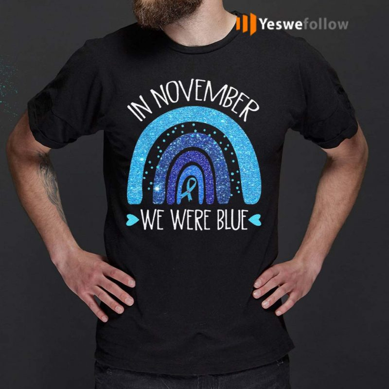 In-November-We-Wear-Blue-Rainbow-Diabetes-Awareness-Gifts-T-Shirt
