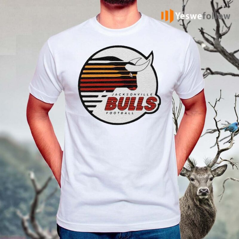 Jacksonville-Bulls-football-shirt
