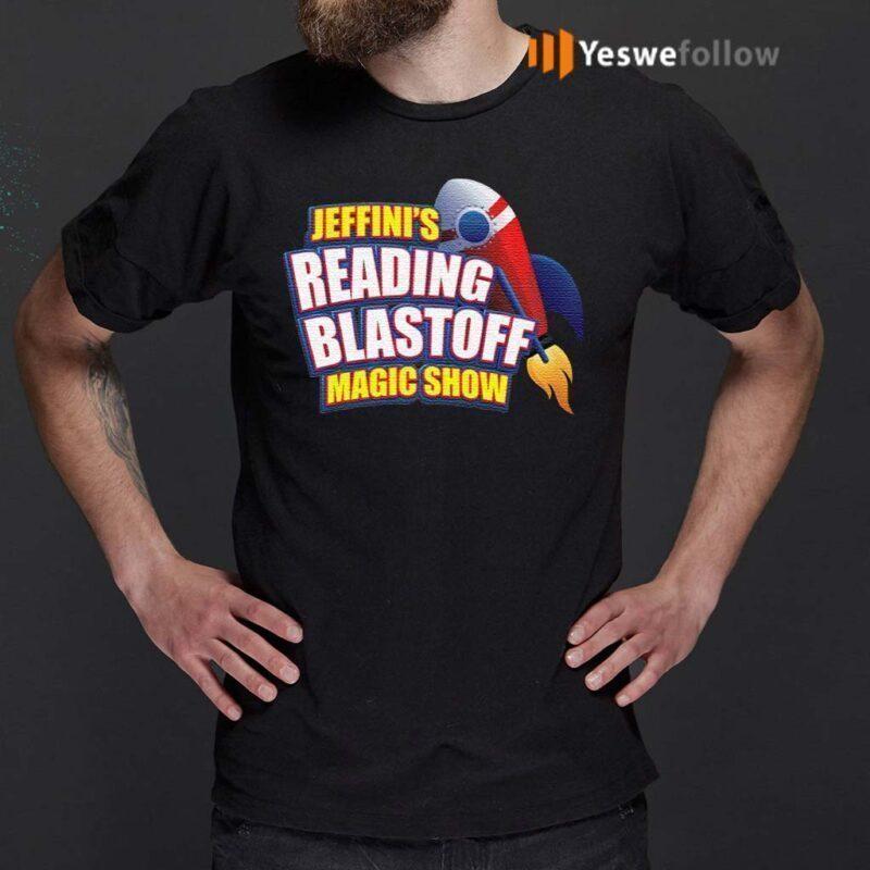 Jeffini's-Reading-Blastoff-Magic-Show-T-Shirt