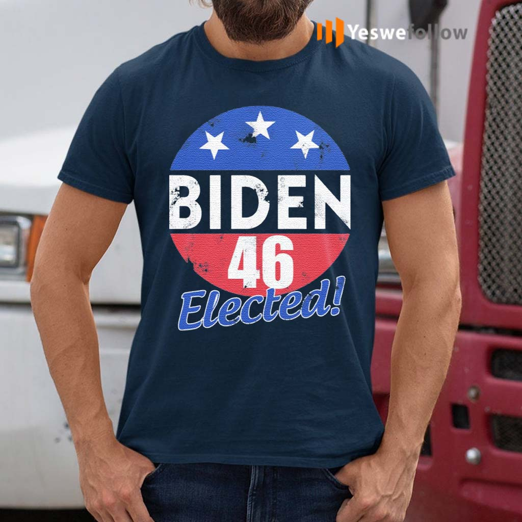 Joe-Biden-46-Elected-Celebrate-Joe-Biden-46th-President-Of-America-2020-Wining-Retro-Vintage-T-shirt