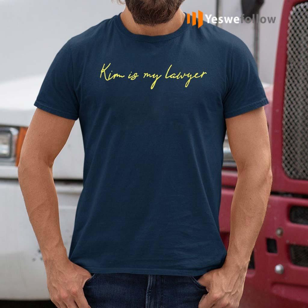 Kim-Is-My-Lawyer-Shirts