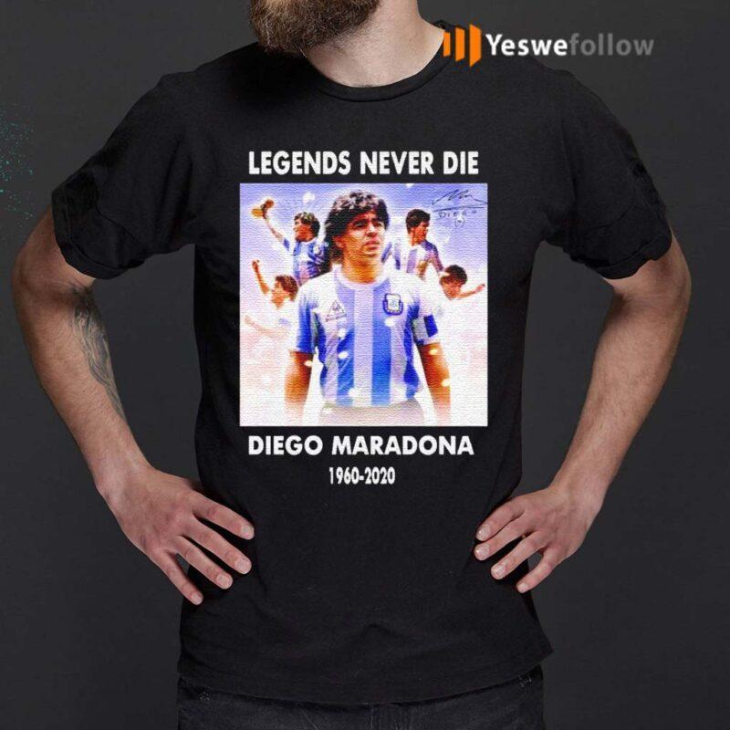 Legends-never-die-Diego-Maradona-1960-2020-shirt