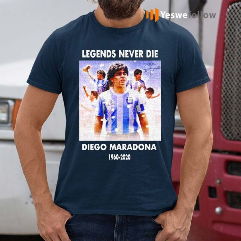 Legends-never-die-Diego-Maradona-1960-2020-shirts