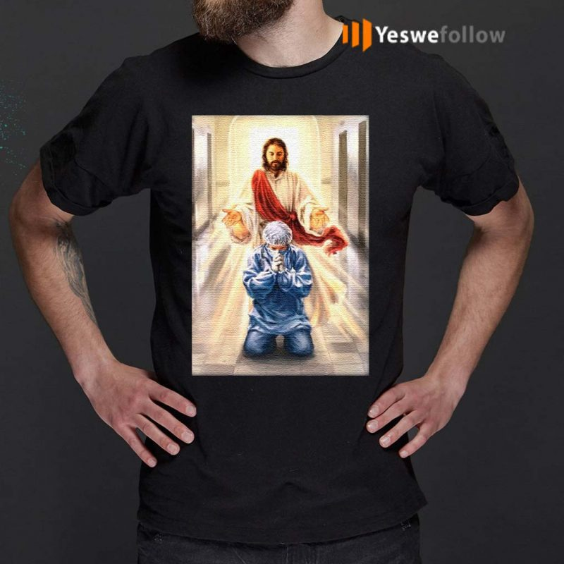 Merciful-Jesus-Bless-Our-Healthcare-Heroes-T-Shirt