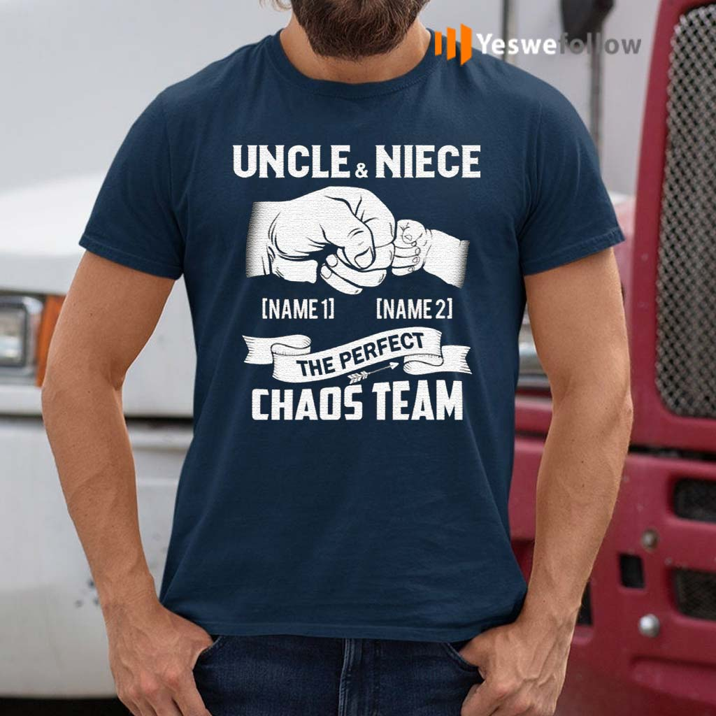 Personalized-Uncle-And-Niece-The-Perfect-Chaos-Team-Punching-Hand-Best-Uncle-Ever-T-Shirt