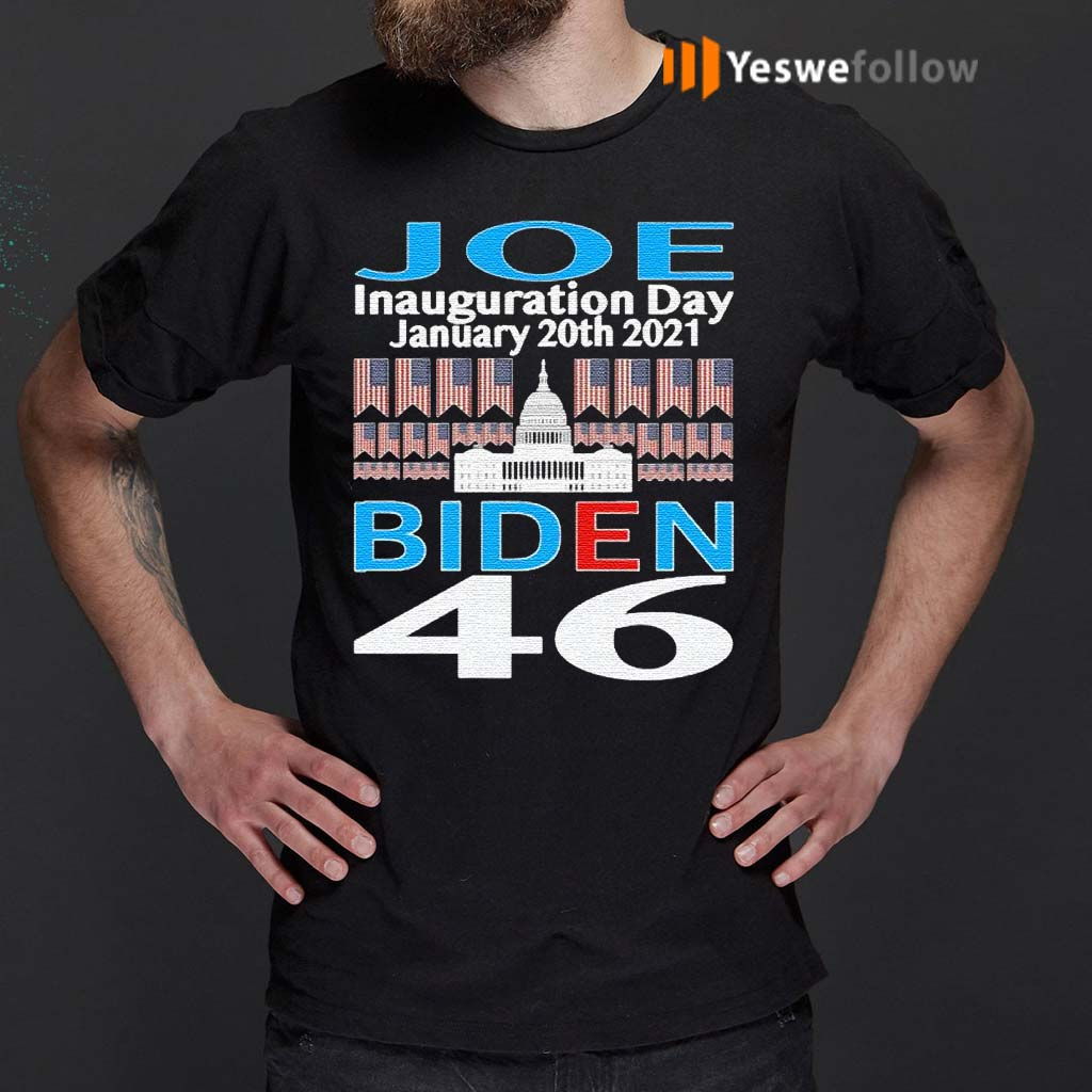 Presidential-inauguration-joe-biden-46-january-20th-2021-american-flag-shirt