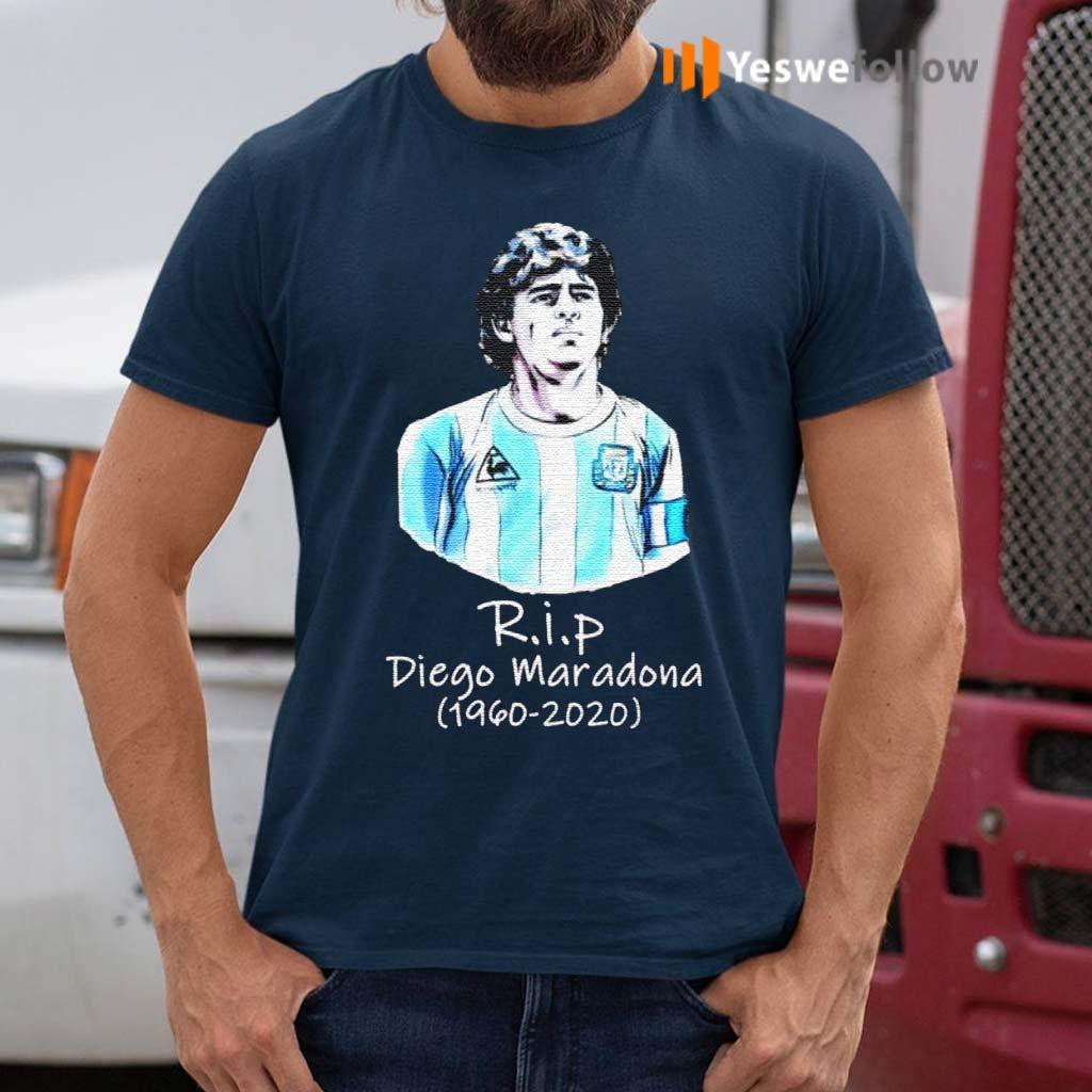 RIP-Diego-Maradona-1960-2020--Legend-Never-Die-Signature-Shirt