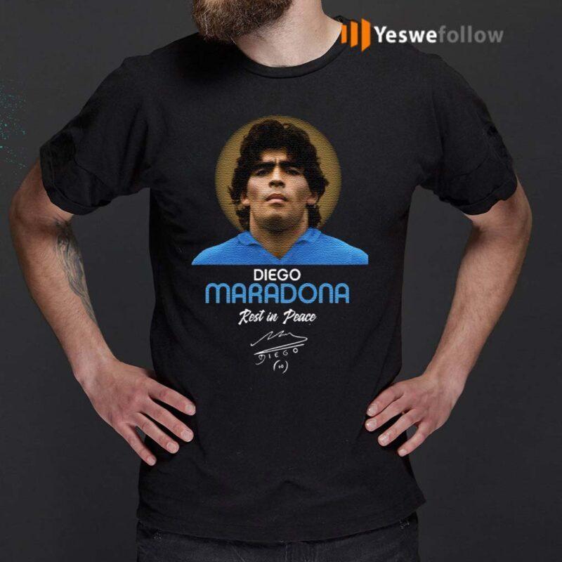 RIP-Diego-Maradona,-Rest-In-Peace-Diego-Maradona-T-Shirts
