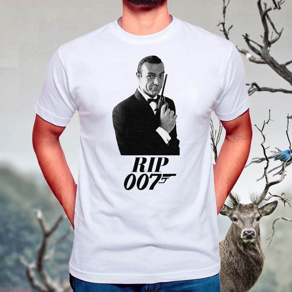 RIP-Sean-Connery-007-Thank-You-For-The-Memories-TShirts