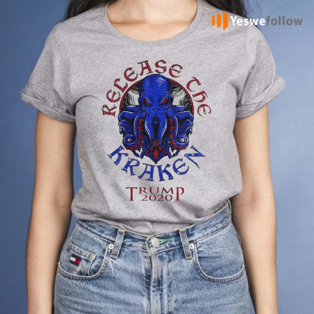 Release-The-Kraken-Trump-2020-Republican-Supporter-Shirt