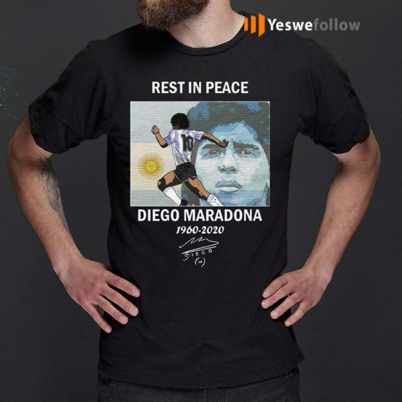Rest-In-Peace-Diego-Maradona-1960-2020-T-Shirt
