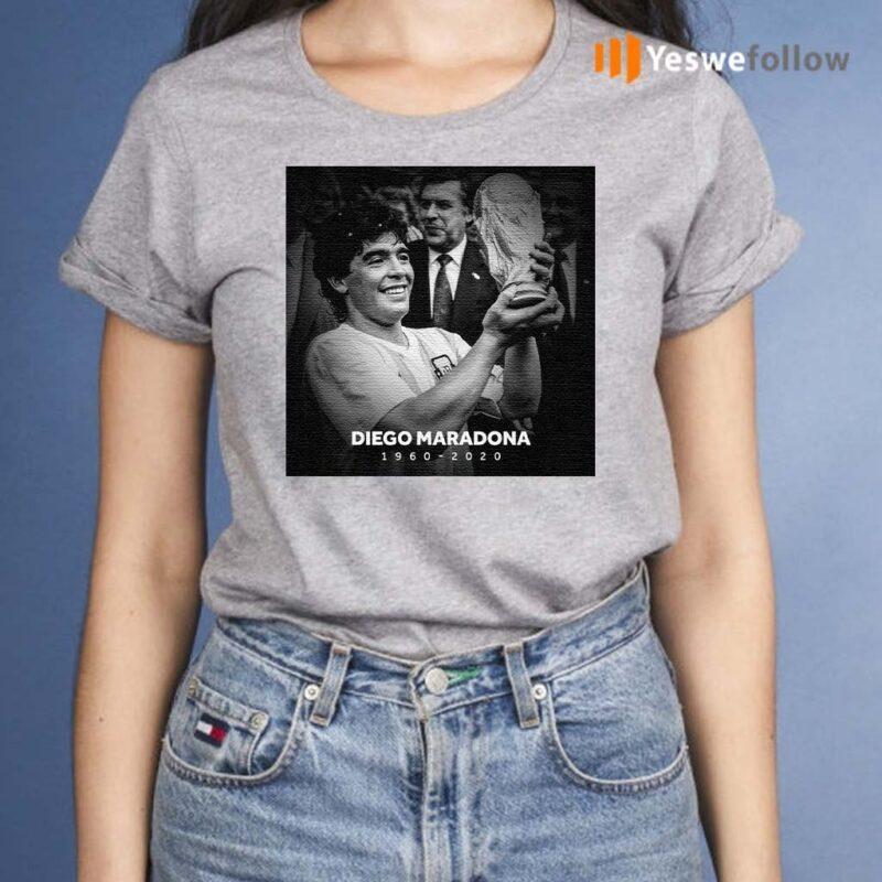 Rip-Diego-Maradona-1960---2020-T-Shirts