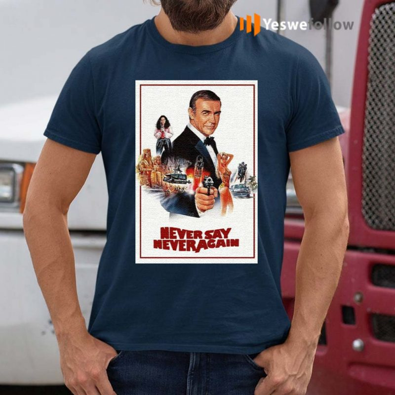 Sean-Connery-James-Bond-007-Never-Say-Never-Again-T-Shirt
