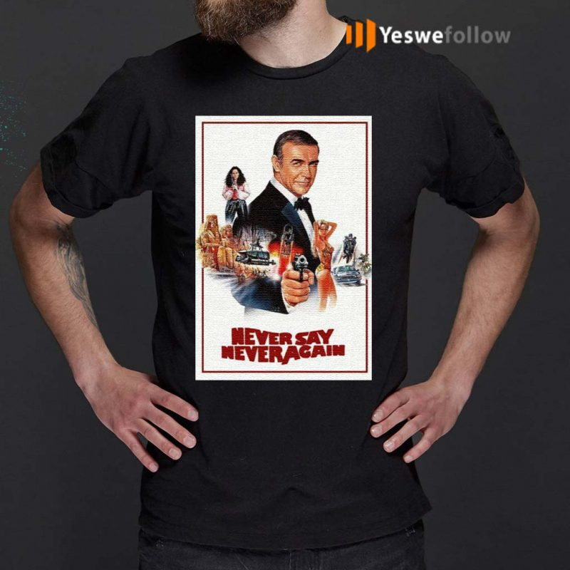 Sean-Connery-James-Bond-007-Never-Say-Never-Again-T-Shirts