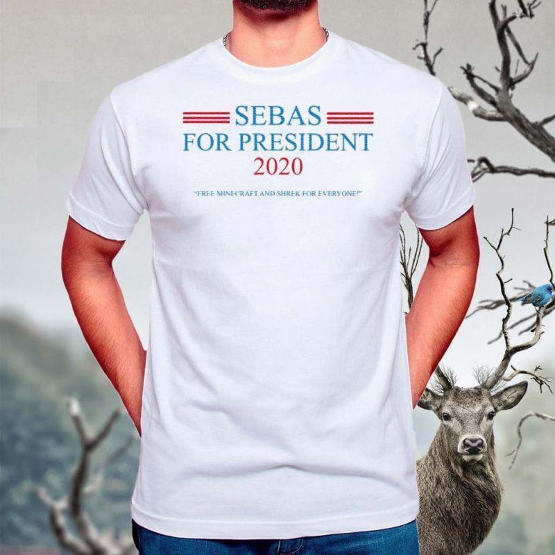 Sebas-for-President-2020-T-Shirt