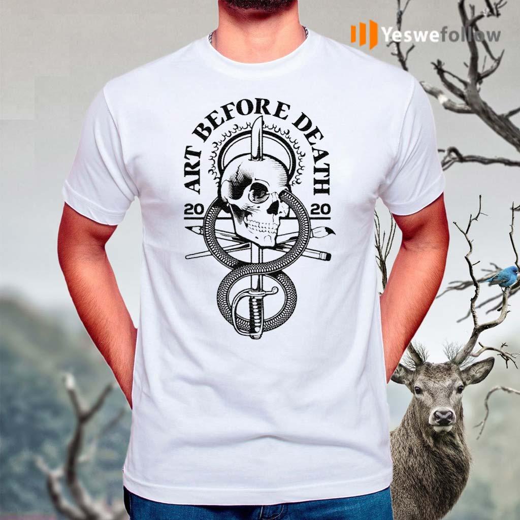 Skull-art-before-death-2020-shirts