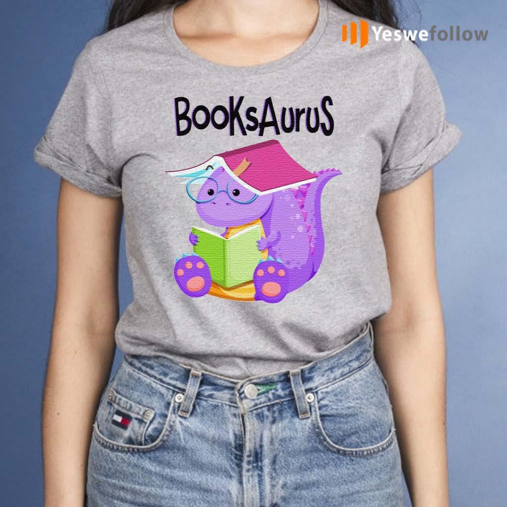 T-Rex-Reading-BooksAurus-Shirt