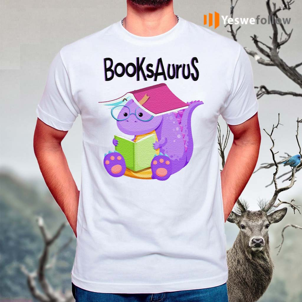 T-Rex-Reading-BooksAurus-Shirts