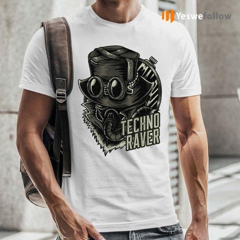 Techno-Music-Raver-T-Shirts