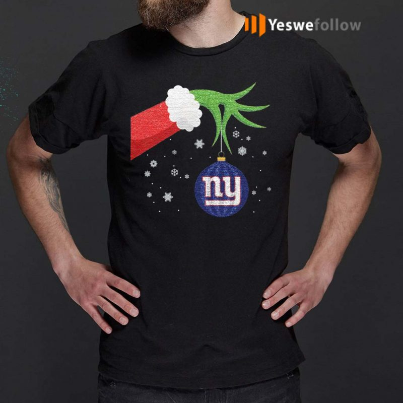 The-Grinch-Christmas-Ornament-New-York-Giants-Shirt