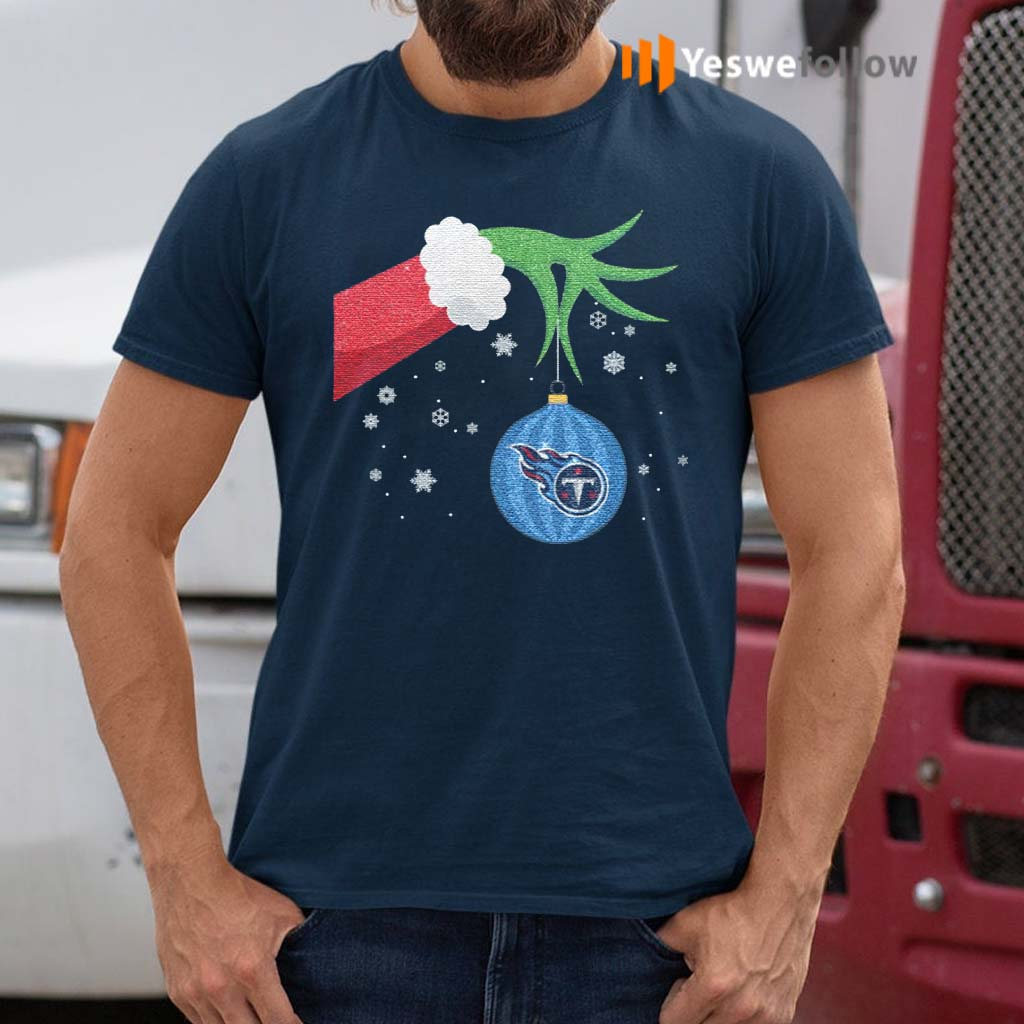 The-Grinch-Christmas-Ornament-Tennessee-Titans-Shirt