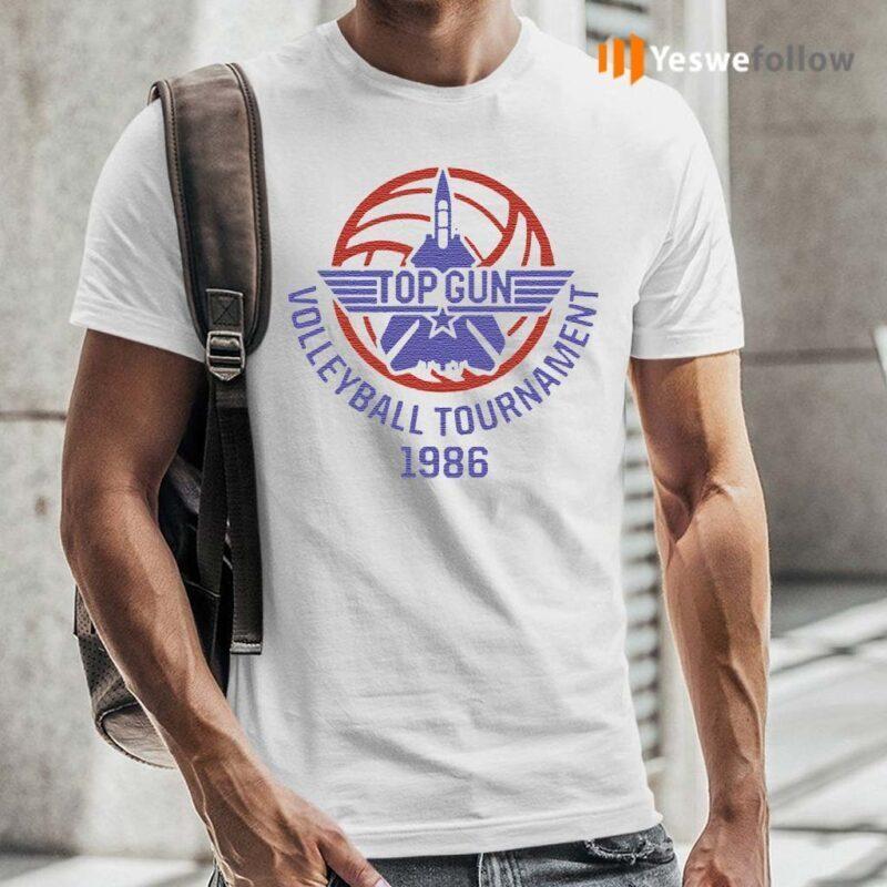 Top-Gun-Volleyball-Tournament-1986-Fightertown-Usa-Shirt