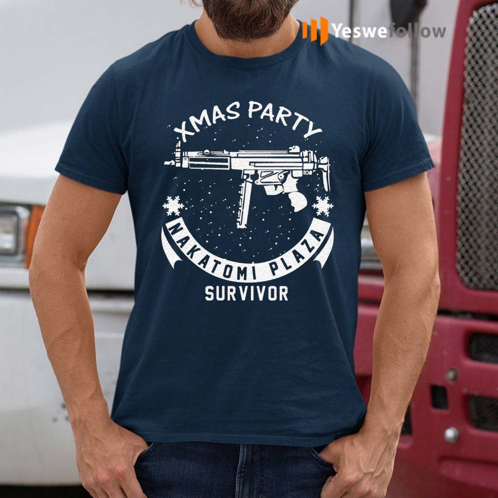 Xmas-Party-Nakatomi-Plaza-Survivor-Christmas-TShirt