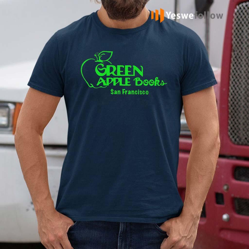 green-apple-books-shirt