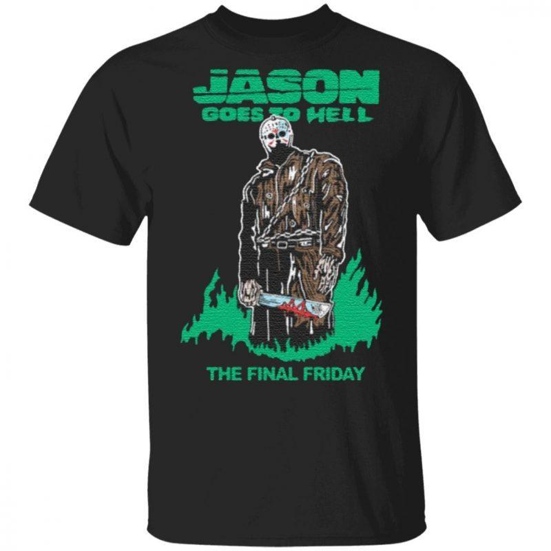 Warren Lotas Jason Goes To Hell Alt The Final Friday Tee Shirt