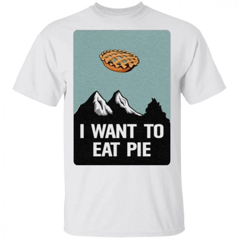 I Want To Believe Pumpkin Pie T-shirts