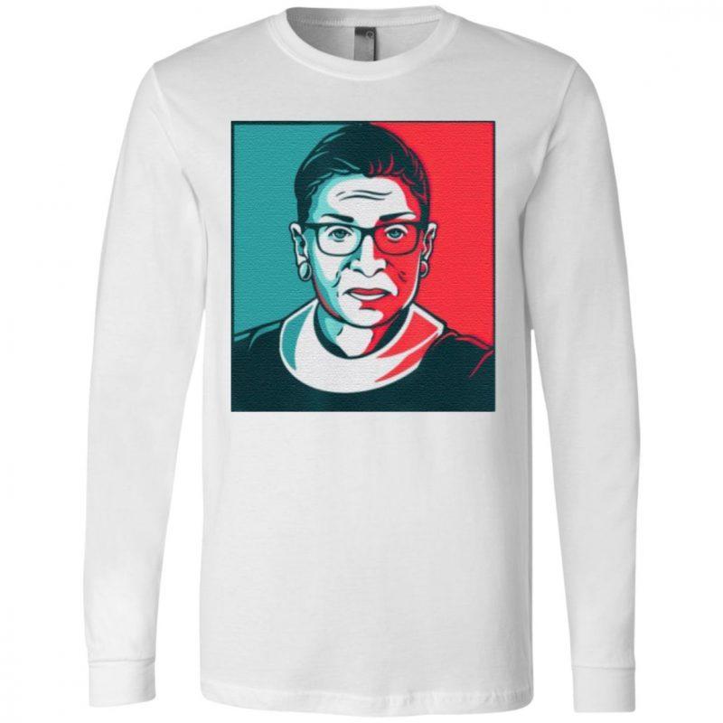 Ruth Bader Ginsburg RBG US Colors Feminism T-Shirt