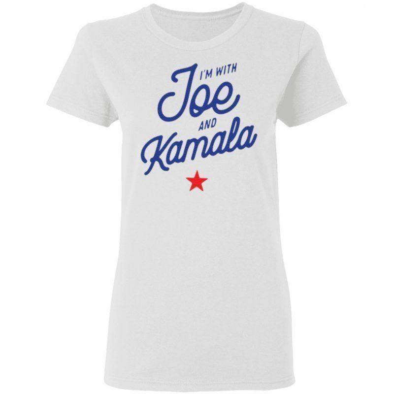 I'm with Joe and Kamala 2020 shirt