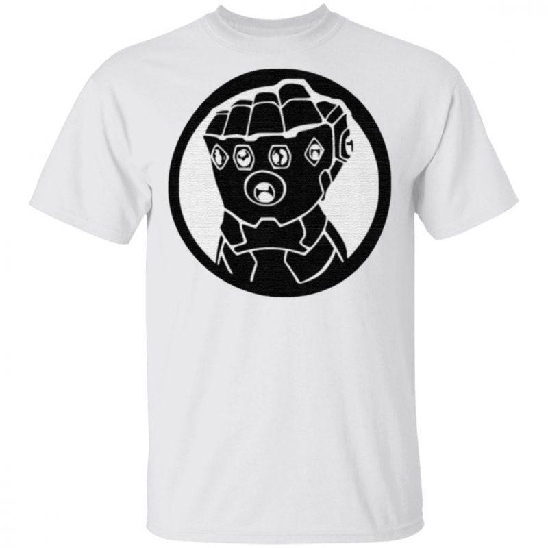 Custom Thanos Gauntlet T Shirt
