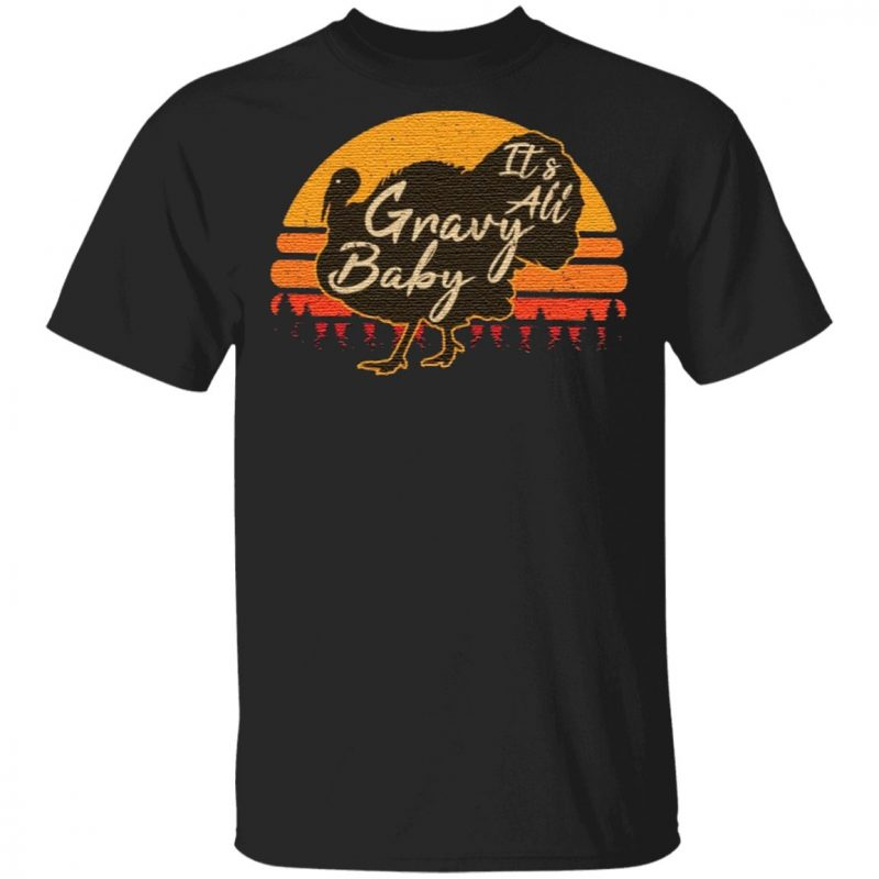 its all gravy baby vintage t shirt