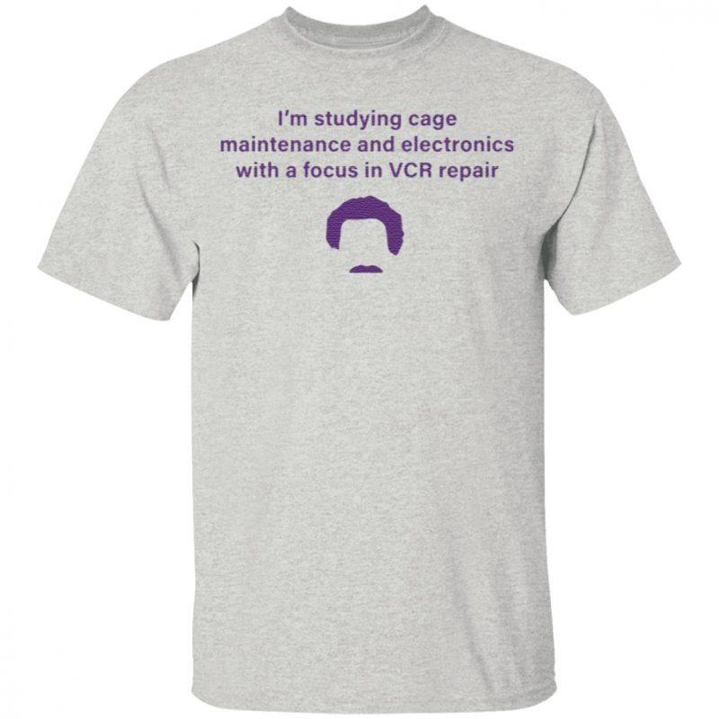 Vcr Repair Pocket T Shirt