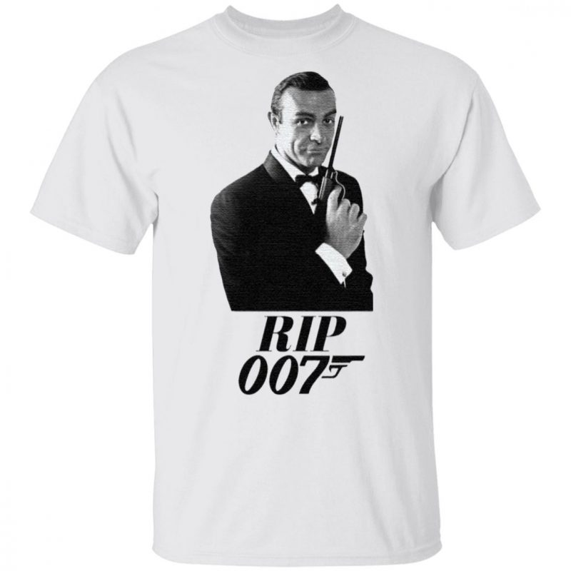 RIP Sean Connery 007 Thank You For The Memories TShirt