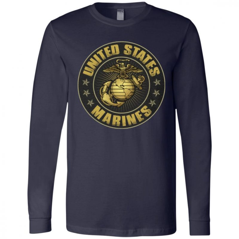What Doesn't Kill You Makes You Stronger Quote United States Marine Corps 2 Sided Front Back T-Shirt