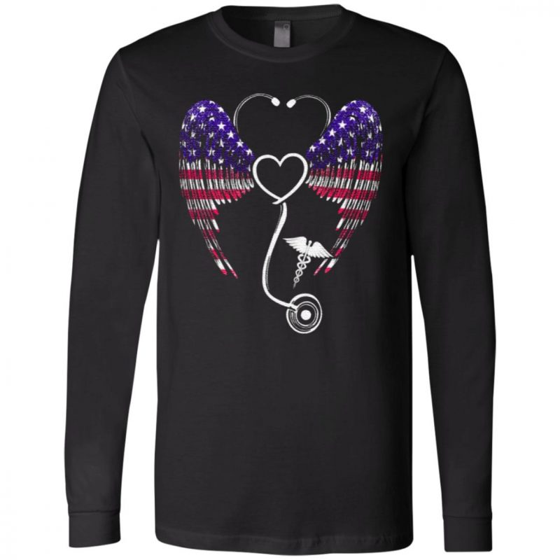 Nursing Stethoscope Wing T-Shirt