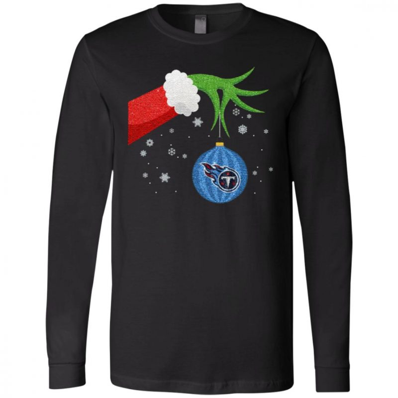 The Grinch Christmas Ornament Tennessee Titans T Shirt