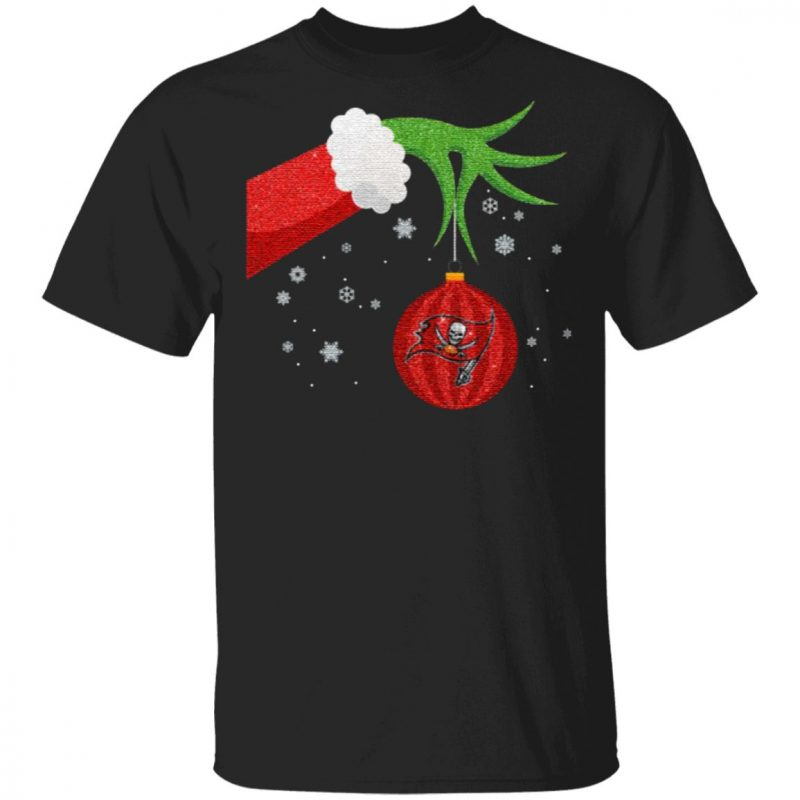The Grinch Christmas Ornament Tampa Bay Buccaneers T Shirt