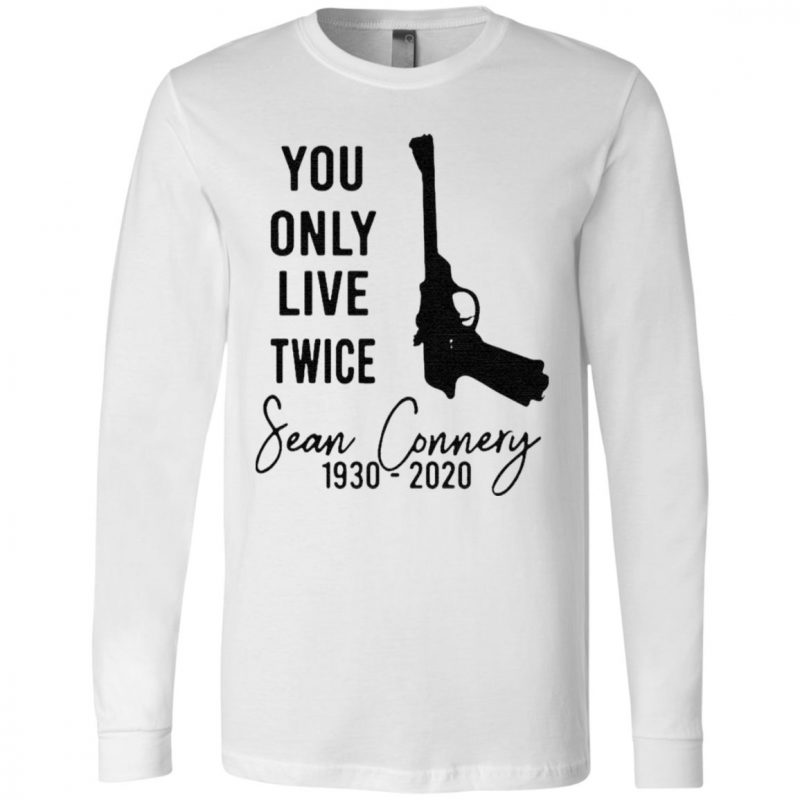 RIP Sean Connery You Only Live Twice 1930 2020 T Shirt