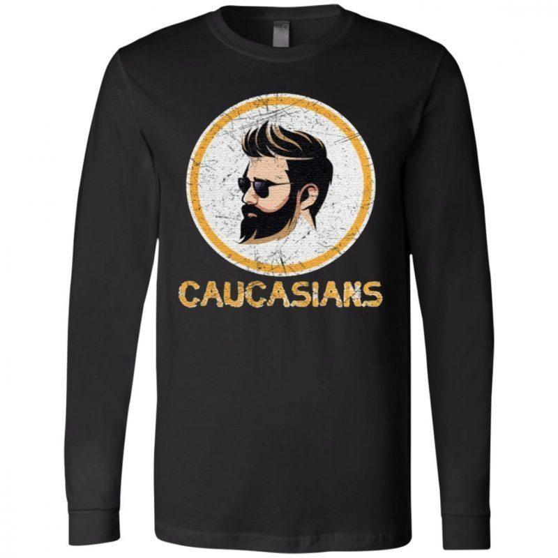 Caucasian Pride Dark Hair T Shirt