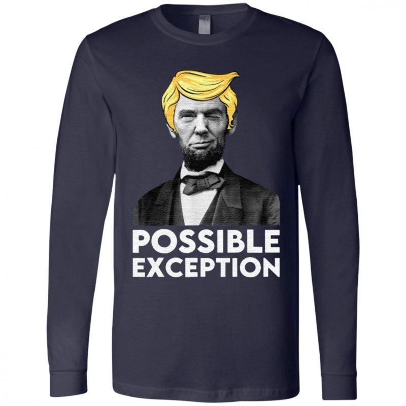 Lincoln Winking With Trump Hair Election Vote Republican T-Shirt