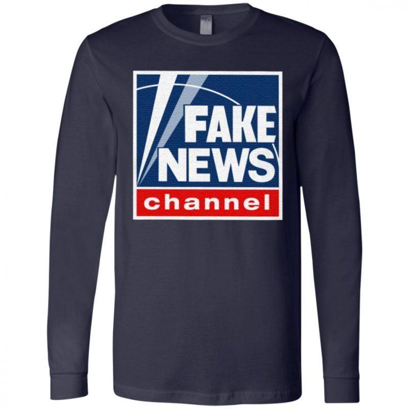 Fake News Channel T Shirt