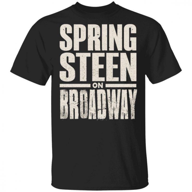 Bruce Springsteen Men's Bruce On Broadway T-shirt