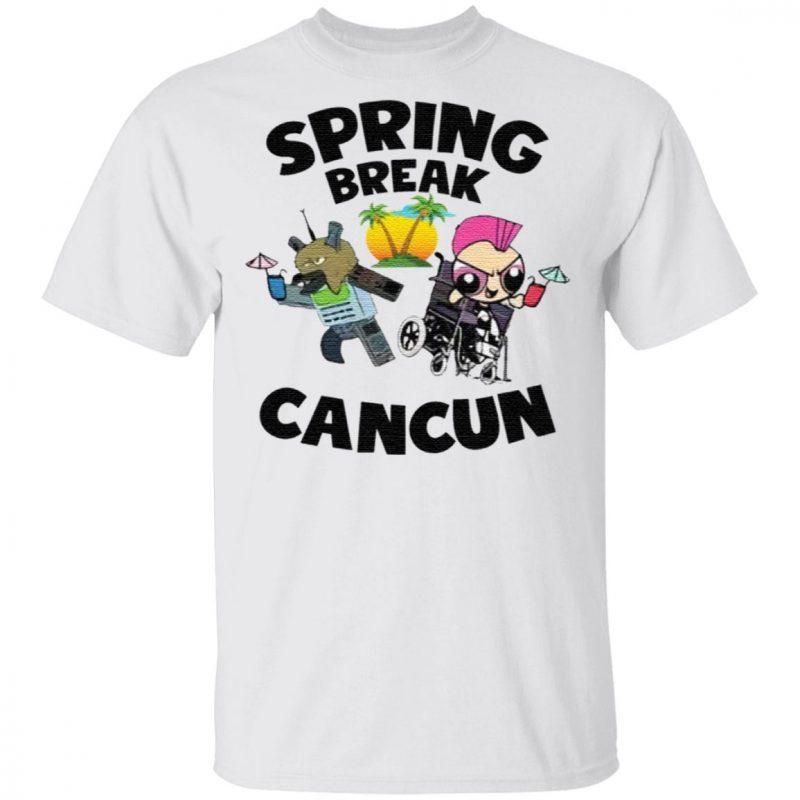 Powerpuff girls spring break cancun t shirt