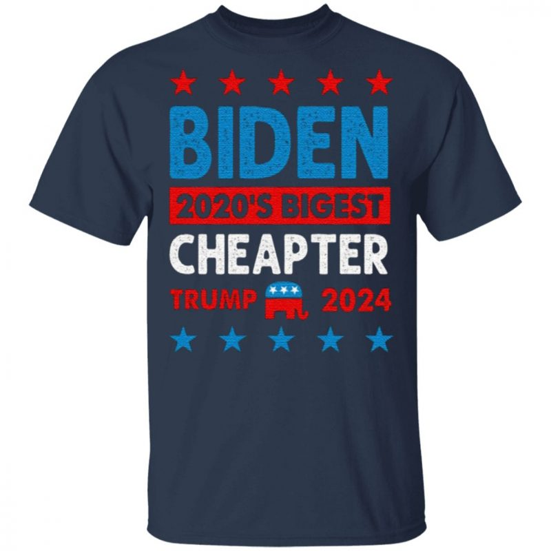 Biden Cheated – 2020's Biggest Cheater Pro Trump 2020 T-Shirt