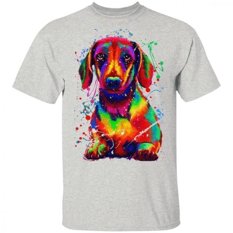 Dachshund Water Color TShirt